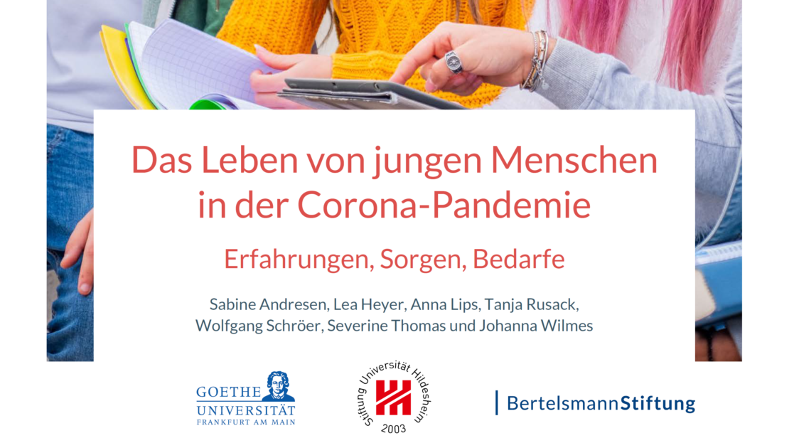 JuCo; JuCo 1 und 2 - neue Erkenntnisse und Auswertungen; Junge Menschen und Corona; Covid-19; Jugendliche; Pandemie
